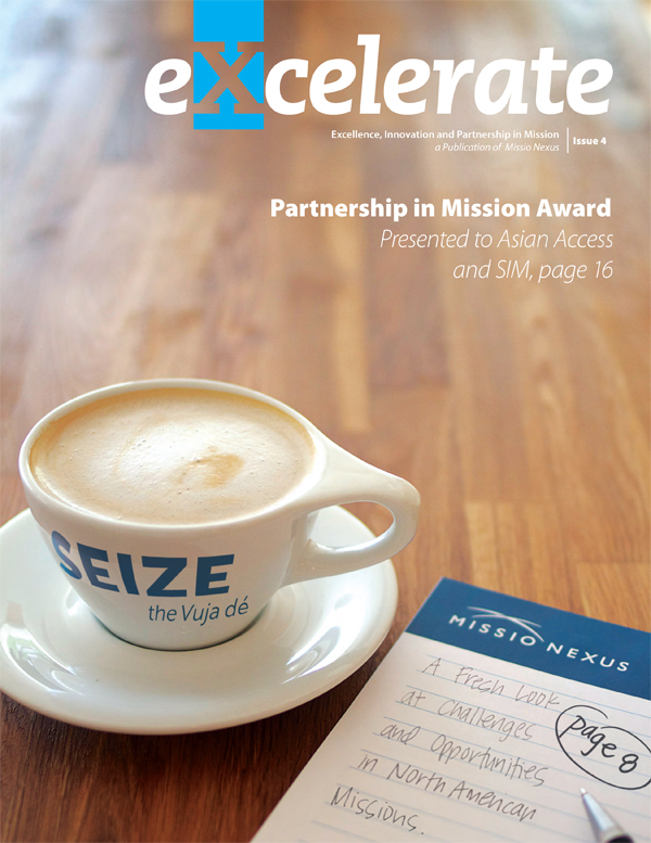 eXcelerate Magazine cover, Sept 2012
