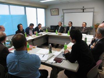 Pastor Akira Sato shares his earthquake/tsunami experience with other JCGI Network pastors.