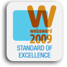 Standard of Excellence WebAward 2009