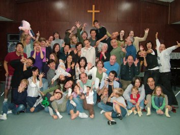 A2 Fall Conference for church planting missionaries, fun shot