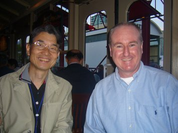 Pastor Fumio Terada and me during the 2009 pastor's vision tour in the North West