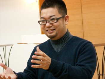 Pastor Makito Matsuda of Rifu Oasis Chapel.