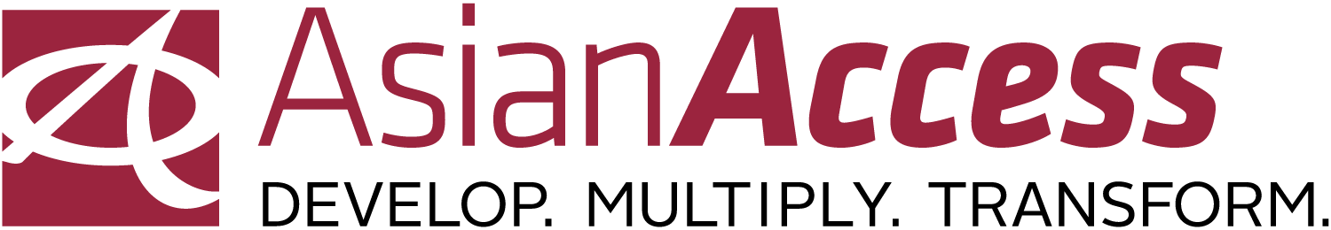 Asian Access logo with tagline