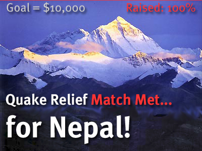 Nepal Earthquake Relief Match