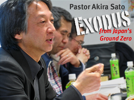 Pastor Akira Sato - Exodus from Japan's Ground Zero