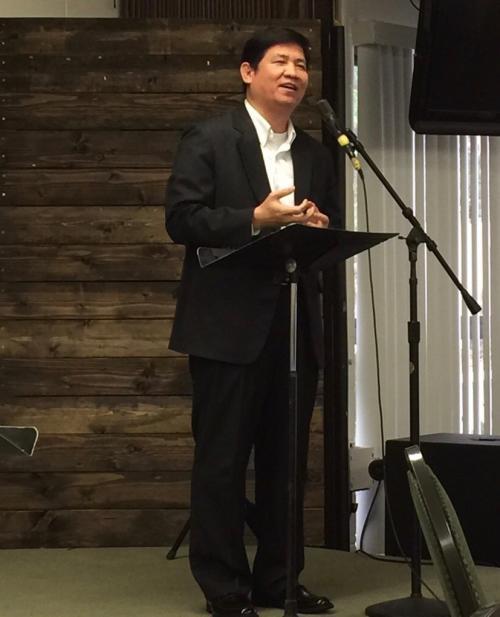 Pastor Meng Aun Hour