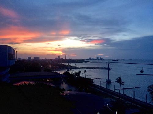 Jakarta sunset 500