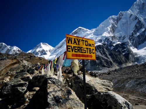 Way to Mt. Everest