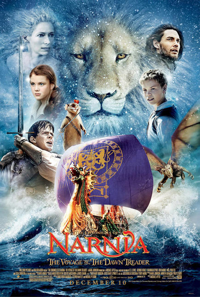 Dawn Treader poster (c) 2010 Twentieth Century Fox Film Corp & Walden Media, LLC, all rights reserved. Property of FOX.