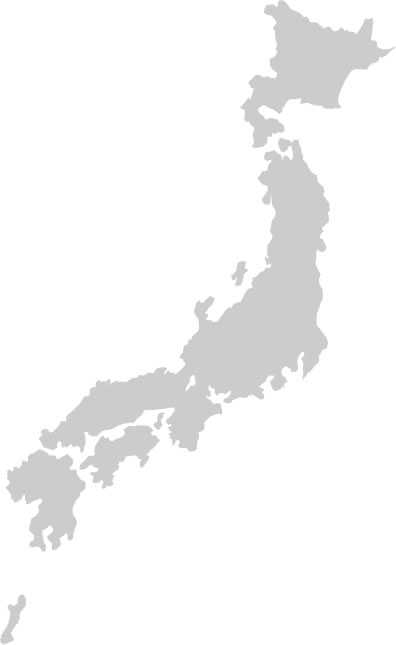 Asian Access Downloads Maps - Japan map black and white