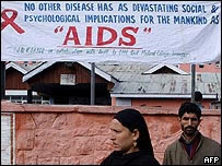 India Aids health promotion
