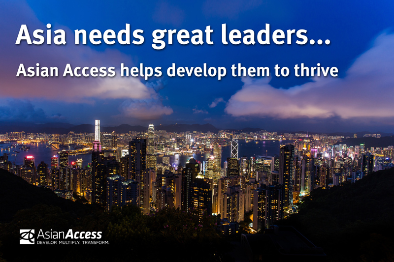 We help develop leaders to thrive
