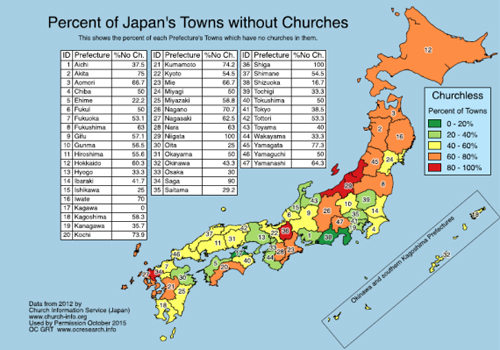 japan no church prefects