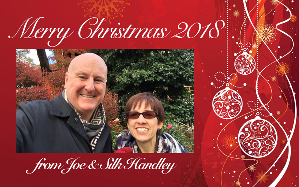 christmas postcard Handley2018