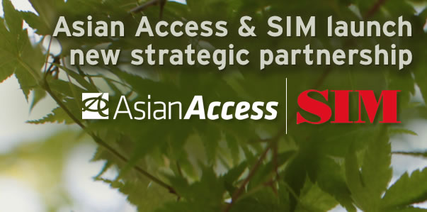 Asian Access and SIM USA announce a strategic partnership for Japan