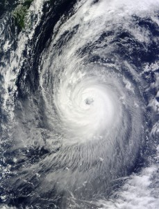 Typhoon Phanfone compounds disaster in Japan